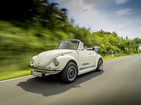 Volkswagen desarrolla un sistema de propulsión eléctrico para el Beetle clásico