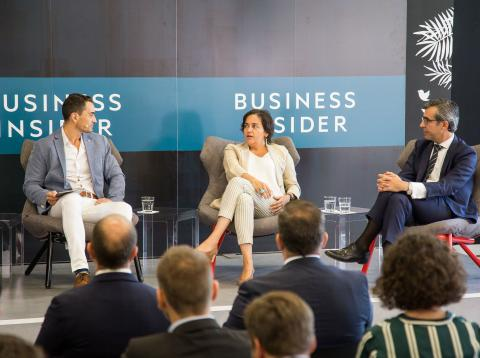 Business Smart Meeting sobre el sector bancario organizado por Business Insider.