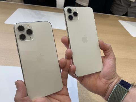 El iPhone 11 Pro.