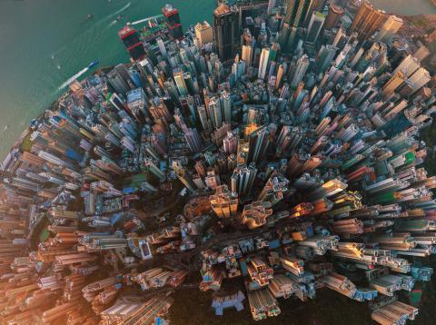 Ciudad de New York vista desde arriba