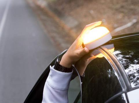 Help Flash Luz de emergencia para vehículos que sustituye a los triángulos