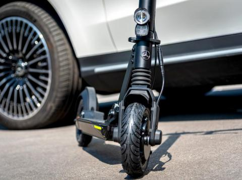 Mercedes-Benz is bringing out an e-scooter.