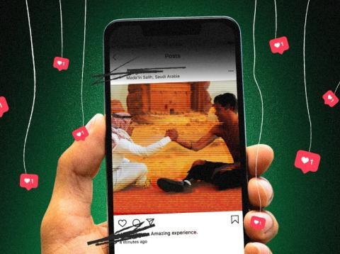 Operación Instagram Arabia Saudi
