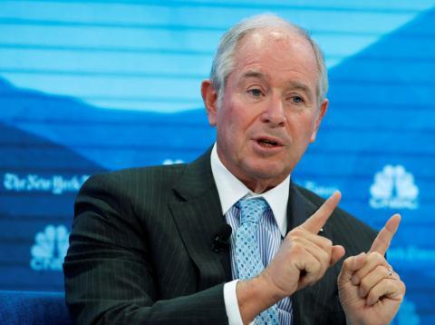 El presidente y CEO de Blackstone, Stephen Schwarzman