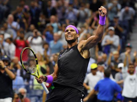 Rafa Nadal, campeón del US Open