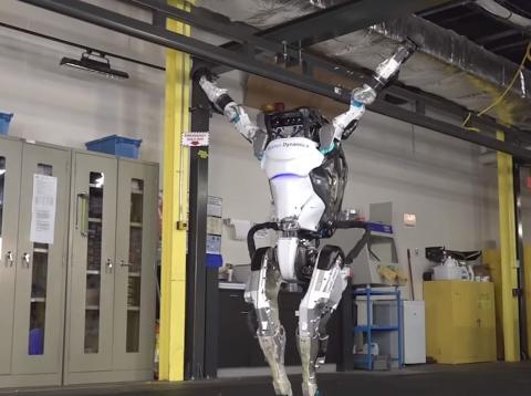 Robot de Boston Dynamics Atlas
