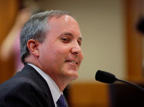 Ken Paxton, fiscal general de Texas.
