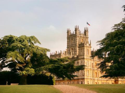 """Dos superfans pasarán la noche en el emblemático castillo de """"Downton Abbey""""."""