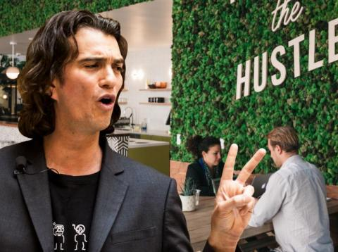 WeWork just announced a Nasdaq listing and fresh limits on CEO Adam Neumann