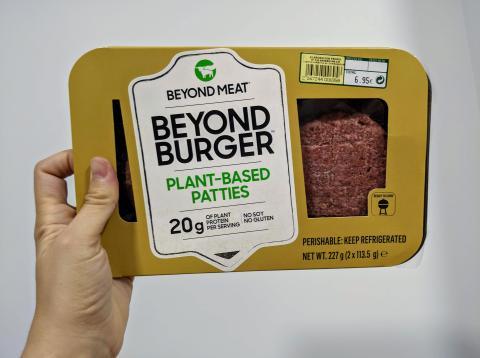He probado la hamburguesa Beyond Meat después de 15 años sin comer carne