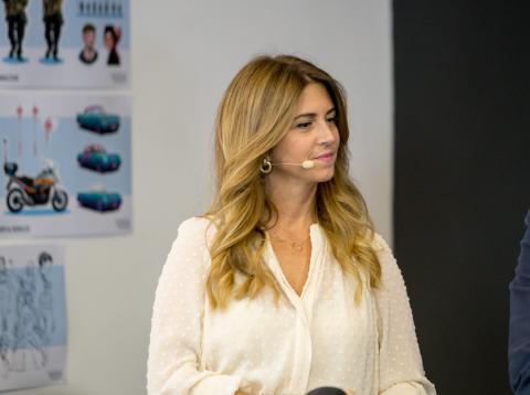 Esther Ruiz, diputada y portavoz de la Comisión de Cultura de la Asamblea de Madrid