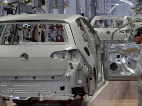 Germany's manufacturing is at a 10-year low.