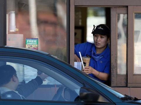 McDonald's drive-thru wait times keep stretching longer and longer.