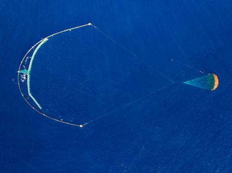 The ocean cleanup-vista aérea