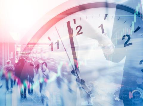 Reloj, hora estrés