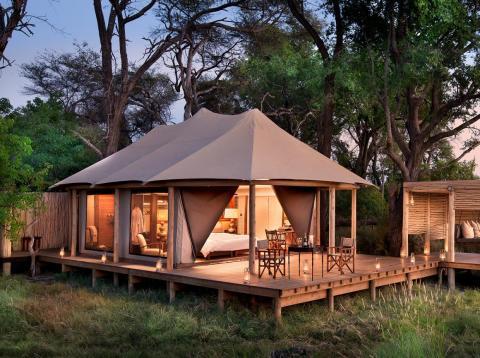 Siete resorts orientados a los safaris forman parte de la lista de los mejores resorts del mundo.