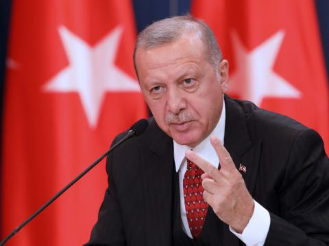 Tayyip Erdogan, presidente de Turquía