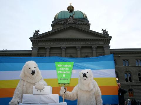 Accion Greenpeace Berlin