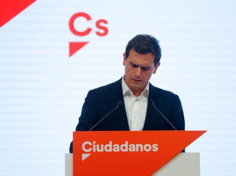Albert Rivera dimite como presidente de Ciudadanos