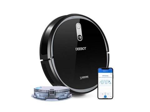 Amazon España ofertas del día de hoy: robot aspirador Ecovacs 715 a 239 euros (-52%)