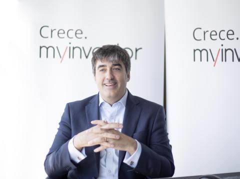 El consejero delegado de Andbank, Carlos Aso.