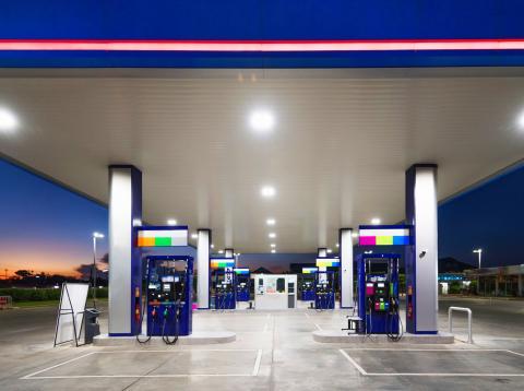 Gasolinera moderna