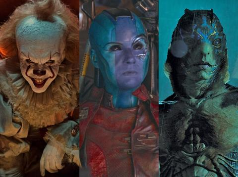 """""""It's"""" Pennywise, Marvel's Nebula, and """"The Shape of Water's"""" Amphibian Man are well-known characters."""
