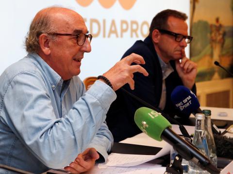 Jaume Roures, jefe del grupo Mediapro