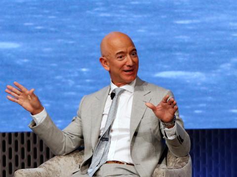 Jeff Bezos, CEO de Amazon y SpaceX