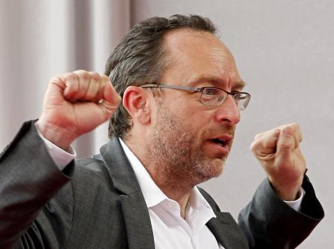 Jimmy Wales, cofundador de Wikipedia.