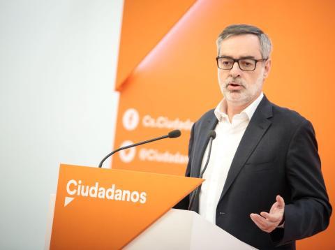 José Manuel Villegas, de Ciudadanos.