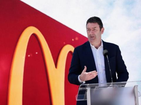 Stephen Easterbrook, hasta ahora CEO de McDonald's.
