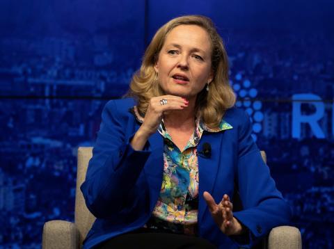 Nadia Calviño, ministra de Economía en funciones