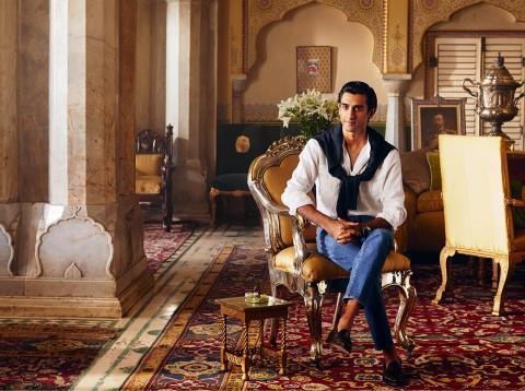 Padmanabh Singh, marajá de Jaipur.