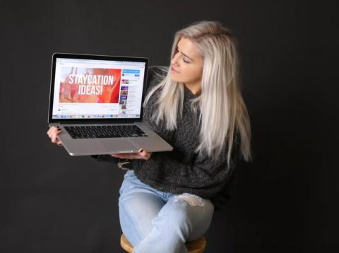 Shelby Church tiene 1.3 millones de suscriptores en YouTube