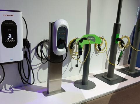Tipos de cargadores eléctricos de Honda