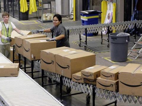 Dos investigaciones revelan que algunos almacenes de Amazon tienen tasas de accidentes laborales por encima del triple de la media de la industria