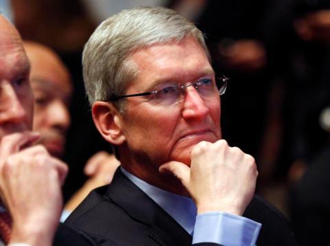 El CEO de Apple, Tim Cook.