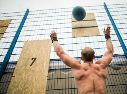 """CrossFit workouts aim to build """"functional fitness,"""" or strength in the type of movements you'd perform in everyday life."""