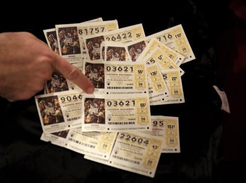 Décimos del sorteo de la Lotería de Navidad