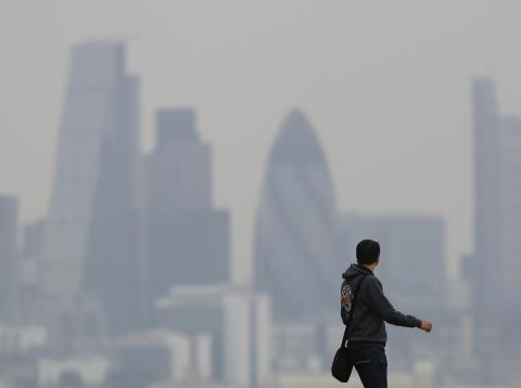 Episodio de contaminación en Londres