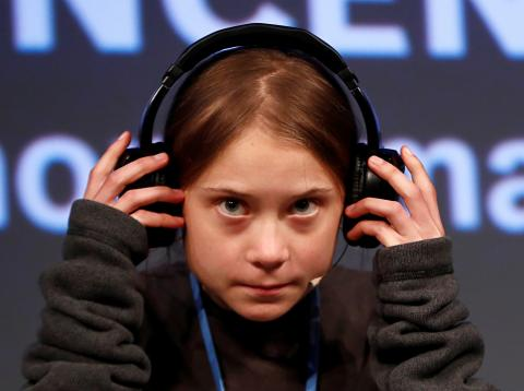 Greta Thunberg en La Casa Encendida de Madrid