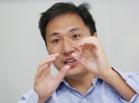 He Jiankui, científico condenado a la cárcel por modificar el ADN de dos niñas.