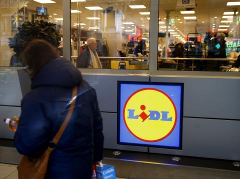 Horarios de supermercados Lidl.