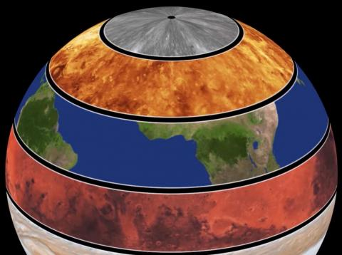An incredible animation by a planetary scientist shows how fast each planet spins by putting them in one giant globe