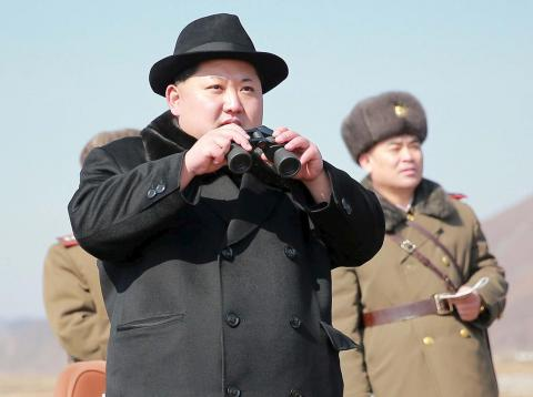 North Korea Supreme Leader Kim Jong-un.