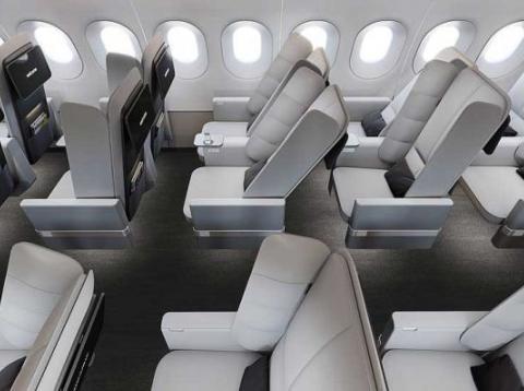 Los nuevos asientos mejorarán la comodidad del pasajero de la clase económica.