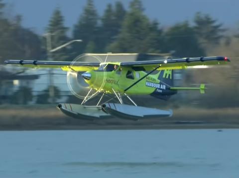 Vuelo del primer avión comercial totalmente eléctrico