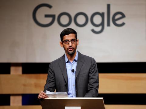 Sundar Pichai ahora es el CEO de Google y Alphabet.