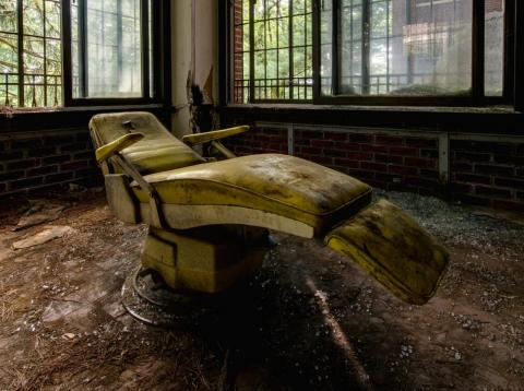 There have been reports of paranormal activity at the Hudson River State Hospital in Poughkeepsie, New York, since it closed in 2003.